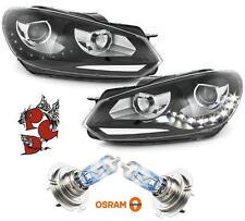 Fari LED luce diurna Golf 6 08-12 + OSRAM Nightbreaker Unlimited h7