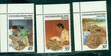 Cocos Islands 1985  Cocos Malay Culture Handicrafts   3 values  MNH
