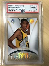 2007-08 SP Authentic Profiles Kevin Durant Rookie Card #AP-13 PSA GEM MINT 10