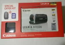Canon LEGRIA HF R306 Full HD 1080 Touch Screen Videocamera SD/SDHC. inutilizzato