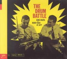 GENE KRUPA/GENE KRUPA & BUDDY RICH/BUDDY RICH - THE DRUM BATTLE NEW CD