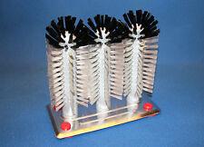 Triple Glass Wash Brush, Aluminum Base Pro Quality
