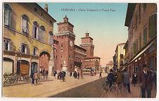 Ferrara - Piazza Commercio e Piazza Pace