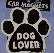 "CAR MAGNET ""DOG LOVER PAWPRINT""  FOR DOG LOVERS"
