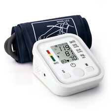Digital LCD Upper Arm Cuff Blood Pressure Pulse Automatic Monitor Heart Meter