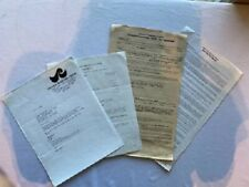 Ted Nugent Concert Contract 1986