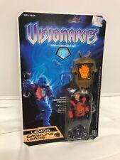 Visionaries Vtg Hasbro 80s MOC Sealed Figure LEXOR Complete Hologram