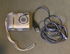 Nikon Coolpix 4600 Digital Camera Silver. Camera And Cable. No Sim Card.