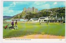 HARLECH - Castle From Royal St. David's Golf Course - c1960s