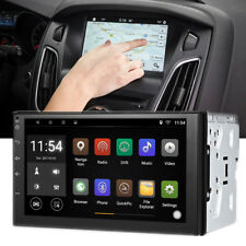 7'' inch Android 6.0 HD 2 DIN Navigation Sat Nav Car GPS Stereo Radio Wifi CAN