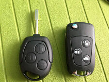 FORD MONDEO FOCUS FIESTA PUMA KEY FOB REMOTE FULL FLIP TYPE CAN CUT AND PROGRAM.