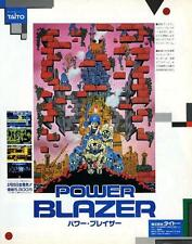 Power Blazer Dragon Quest IV Famicom 1990 JAPANESE GAME MAGAZINE PROMO CLIPPING