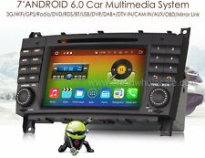 "AUTORADIO Android 6.0 7"" MERCEDES Classe C CLK CLC W209 HD/DTV/AUX/GPS/Bluetooth"