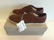 lacoste glendon 6 srm lth brown shoes
