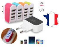 Prise mural chargeur adaptateur 3 ports USB secteur pour Iphone Samsung Sony LG