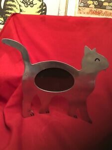 Large Metal Cat Picture Frame