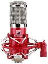 Profi Studio Mikrofon Kondensator Gesangsmikrofon XLR Microphone Spinne Rot