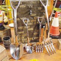 2pcs Stainless Steel Flatware Shovel Fork Spoon Set Kitchen Gadgets Tools AL
