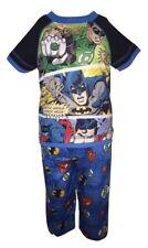 Justice League Boys Blue 2 Piece Pajama Set Size 2T