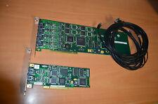 EICON DIVA Server Analog PCI Board 033-055-03  + 033-085-02 + 3 cables  E330517