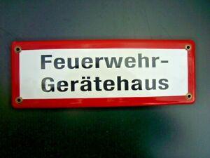 Emailschild - Feuerwehr-Gerätehaus -