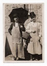 PHOTO Vintage Déguisement Travestissement Homme Couple Travesti Drôle Curiosité