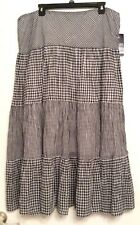 Women's MultiColor Skirt by Chaps size XL