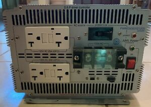 AIMS 12V to 120V 5000W Pure Sine Inverter (PWRIG500012120S)