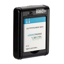 Samsung Galaxy S3 Battery and Charger 1500mAh 5.6Wh 3.7v (Digital Energy) NEW