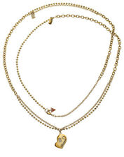 Guess Necklace/Necklace Heart Series ubn80916 Gold Plated