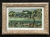 LILY MASSON (1920-2019) Fille du peintre André MASSON // Oeuvre Surréaliste (22)