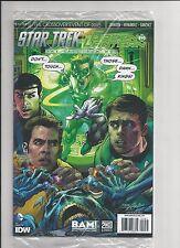 Star Trek Green Lantern #1 BAM Exclusive Neal Adams Variant NM sealed Rare