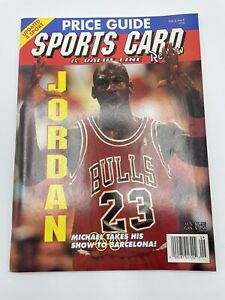Price Guide Michael cover and card Sports Card & Value Line Review 1992 vol. 2 #