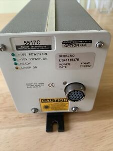 AGILENT 5517C-C Option 003 414uW Opt. HeNe Laser LASER HEAD