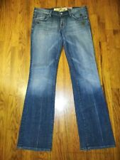 Women's 7 For All Mankind Jeans Studded Flare Jeans Size 30 Actual 32x30