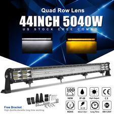 "Autofeel 44Inch 5040W Quad Row Len CREE LED Light Bar Combo Offroad ATV 4WD 42"""