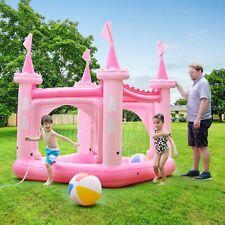 Teamson Kids piscina Inflable/pelopincho castillo Rosa para Niños