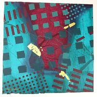 "Frank Rowland Mixed Collage Media Art 24"" x 24"" Signed Original Artwork Lot #2"