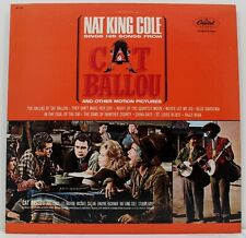 Nat King Cole sings his songs from CAT BALLOU -  Capitol LP # SM 11804 -  MINT
