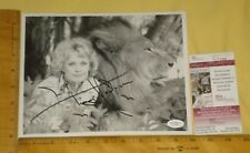"""REAL JSA Authentic Tippi Hedren Signed/Auto 8""""X10"""" B&W Photo James Spencer RARE"""
