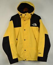 Authentic The North Face Vintage Mountain Mens Jacket Yellow Black M 1990 90s