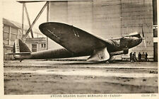 Carte Aviation Avion de Record TRAIT D'UNION Dewotine D 33 Moteur Hispano Suiza