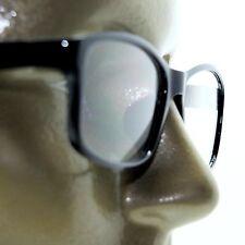 Reading Glasses Square Eyes Readers Bold Polished Black Frame +2.75 Lens