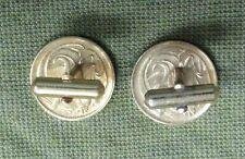 #D275. PAIR  OF GILT  CUFFLINKS MADE FROM AUSTRALIAN 2 CENT  COINS
