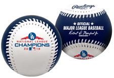 2018 NLCS Champions Los Angeles Dodgers World Series Rawlings Baseball