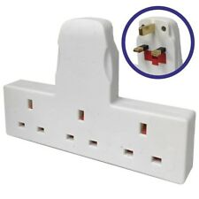 3 Gang Extension Multiway Adaptor Socket Cable Plug Adapter Mains Power 13 Amps