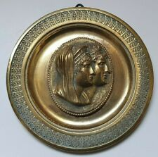 Pendant medal - Cleopatra Thea & Antiochos VIII, 93 mm, 133 gr