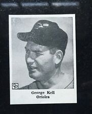 GEORGE KELL - 1957 KING FEATURES Baseball card - BALTIMORE ORIOLES