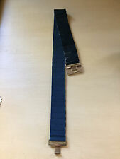 New stretch belt size S Small very nice blue $21.98 new for a great price