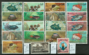 Qatar Selection of 19 Stamps #4406
